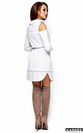 Платье Ребека, Белый - фото 3