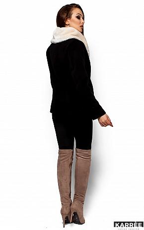 Пальто Аманда, Черный - фото 3