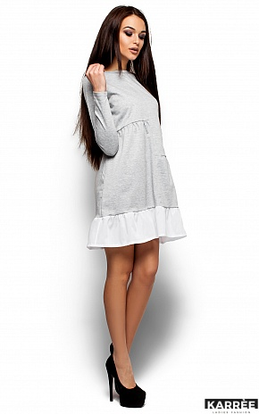 Платье Инга, Серый - фото 1