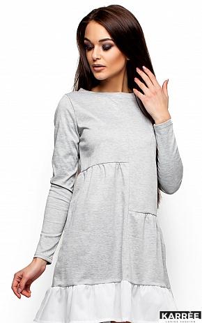 Платье Инга, Серый - фото 2