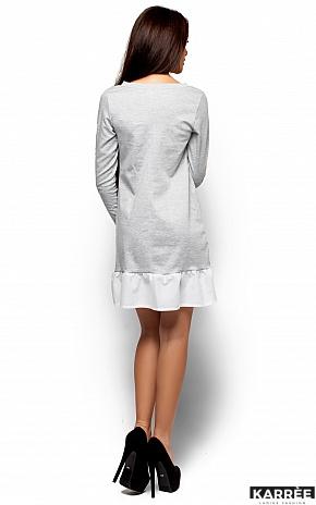 Платье Инга, Серый - фото 3
