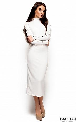 Платье Линда, Белый - фото 1
