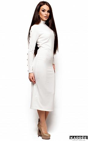 Платье Линда, Белый - фото 4