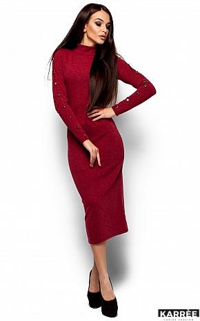 Платье Линда, Бордо - фото 4
