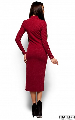 Платье Линда, Бордо - фото 3