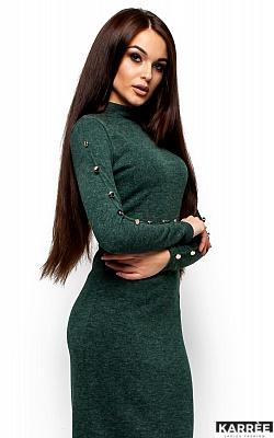 Платье Линда, Темно-зеленый