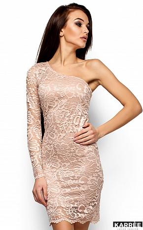 Платье Самтер, Бежевый - фото 2