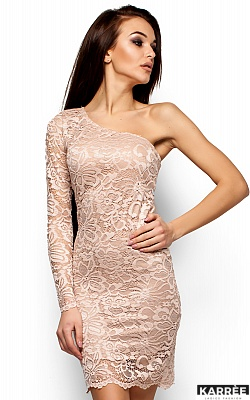 Платье Самтер, Бежевый