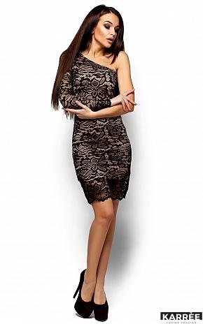 Платье Самтер, Черный - фото 4