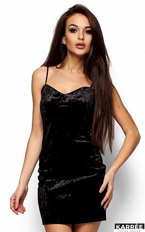 Платье Окси, Черный - фото 2
