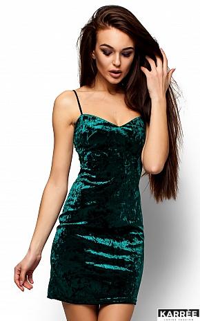 Платье Окси, Темно-зеленый - фото 2