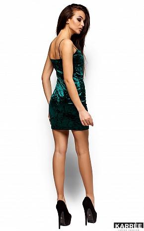 Платье Окси, Темно-зеленый - фото 3