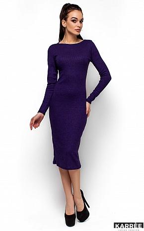 Платье Элина, Фиолетовый - фото 4