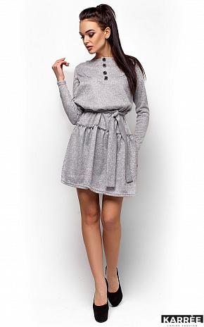 Платье Рикки, Серый - фото 4