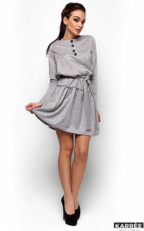 Платье Рикки, Серый - фото 1