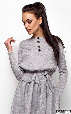 Платье Рикки, Серый - фото 2