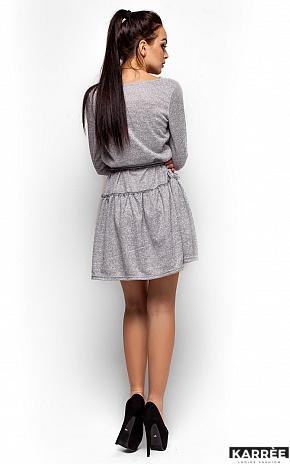 Платье Рикки, Серый - фото 3