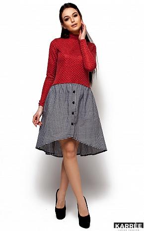 Платье Роуз, Красный - фото 1