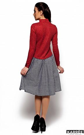 Платье Роуз, Красный - фото 3