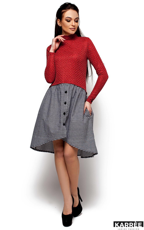 Платье Роуз, Красный - фото 4