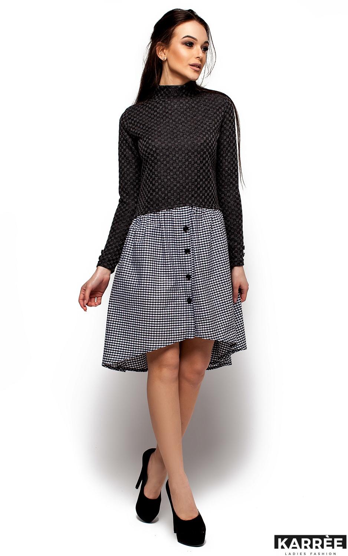 Платье Роуз, Черный - фото 4