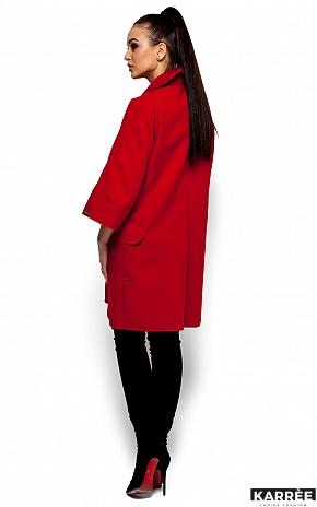 Пальто Зарина, Красный - фото 3