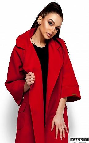 Пальто Зарина, Красный - фото 2