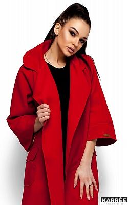Пальто Зарина, Красный