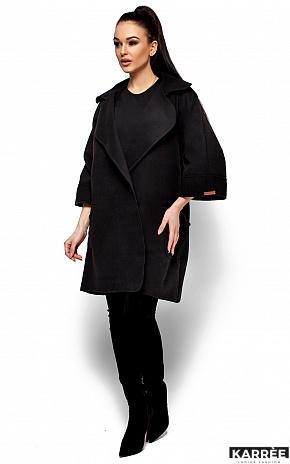 Пальто Зарина, Черный - фото 1