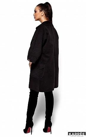 Пальто Зарина, Черный - фото 4