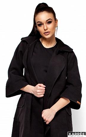 Пальто Зарина, Черный - фото 2