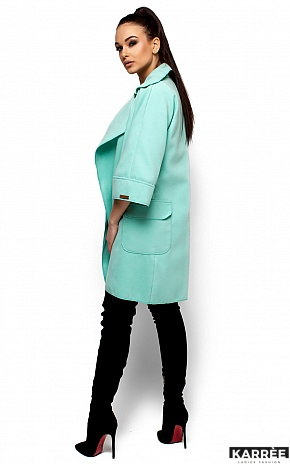 Пальто Зарина, Ментол - фото 5