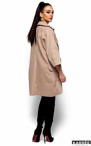 Пальто Зарина, Бежевый - фото 3