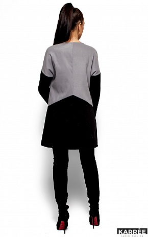 Пальто Габби, Серый - фото 3