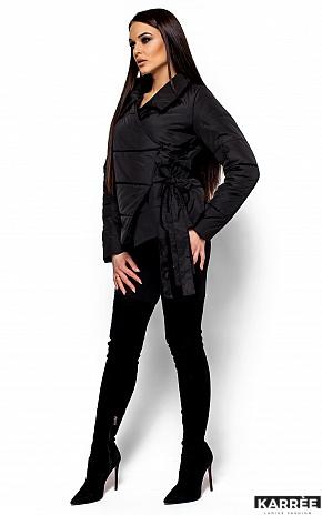 Куртка Флер, Черный - фото 4