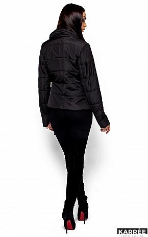Куртка Флер, Черный - фото 3