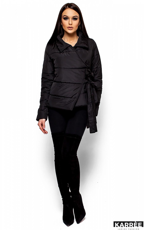 Куртка Флер, Черный - фото 1