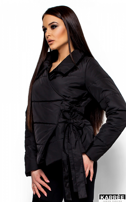 Куртка Флер, Черный - фото 2
