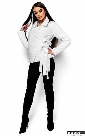 Куртка Флер, Белый - фото 4