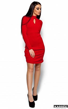 Платье Ларетти, Красный - фото 4