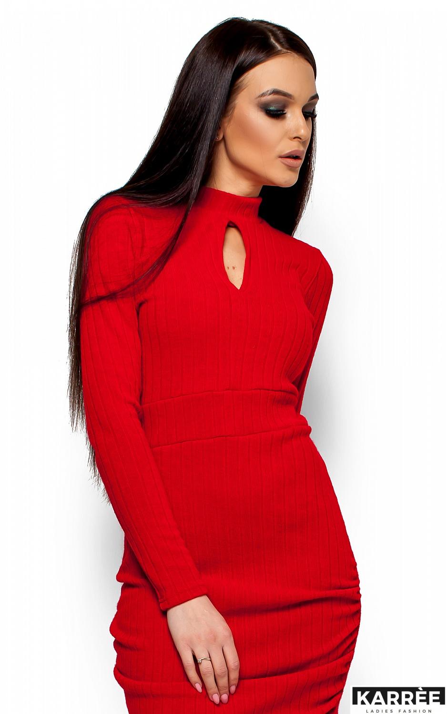 Платье Ларетти, Красный - фото 2