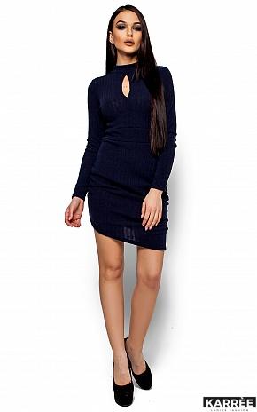 Платье Ларетти, Темно-синий - фото 1