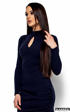 Платье Ларетти, Темно-синий - фото 2