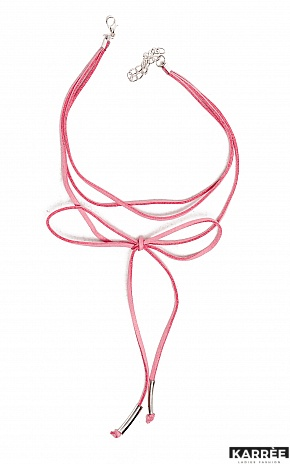 Чокер Айова, Розовый - фото 2