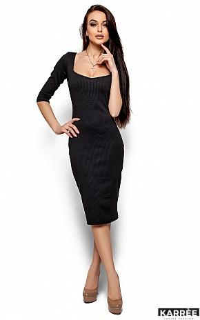 Платье Хилари, Черный - фото 1
