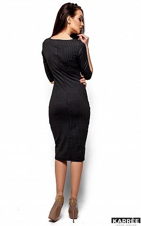 Платье Хилари, Черный - фото 3