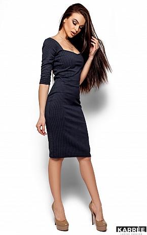 Платье Хилари, Темно-синий - фото 1