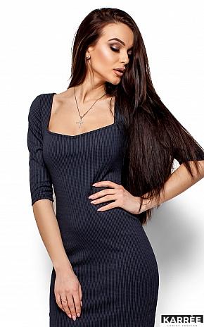 Платье Хилари, Темно-синий - фото 2