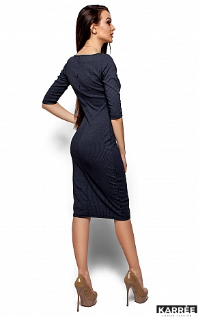 Платье Хилари, Темно-синий - фото 3