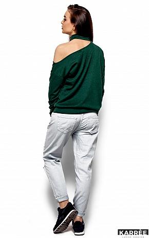 Кофта Оникс, Темно-зеленый - фото 3